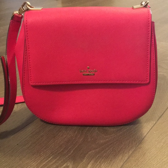 Kate Spade Hot Pink Crossbody Bag